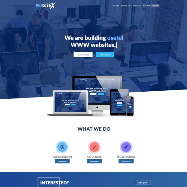 Strona WebsiteX